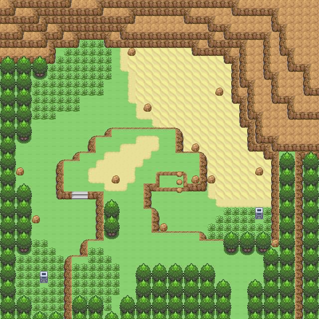 《口袋妖怪漆黑的魅影5.0》砂狐乐园地图图片