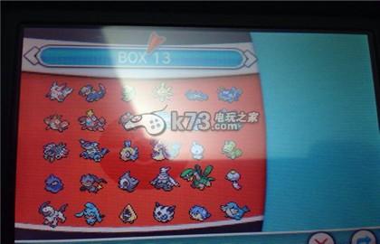 口袋妖怪红宝石/蓝宝石719全型精灵图鉴一览
