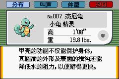 胜利之火杰尼龟