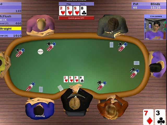 《扑克模拟:无限额德州扑克》完整破解版下载