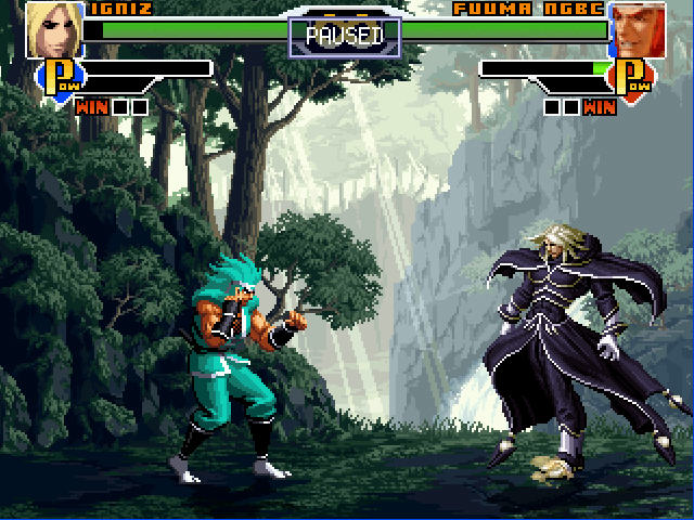 《拳皇DIY版可选200人》免安装绿色版下载(窗口化版)