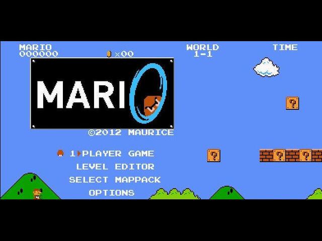 《传送门马里奥》免安装硬盘版下载