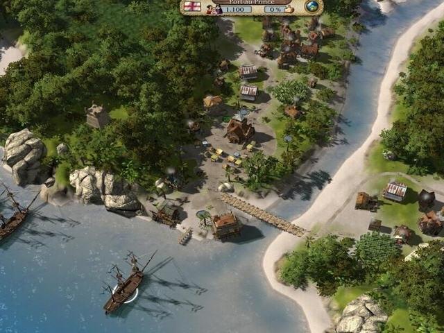 《海商王3:金银岛》免安装中文版下载