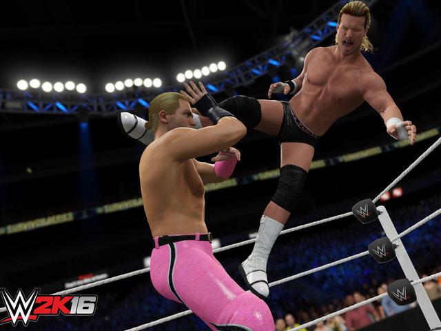 《WWE2K16》免安装中文正式版下载